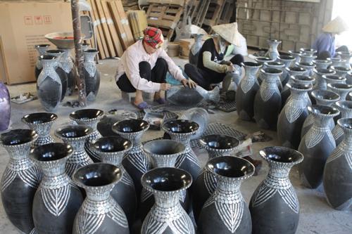 Làng nghề truyền thống Phú Xuyên sơn mài 200 năm tuổi