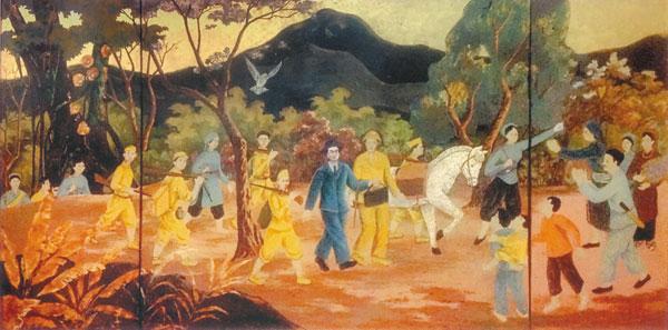 Làng nghề tranh sơn mài Hà Thái, Duyên Thái, Thường Tín, Hà Nội